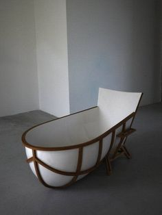 Artistic chair bathtub with modern design #artistic #bathroom #furniture #art #bathtub