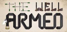 thewellarmed.com #type #illustration #design