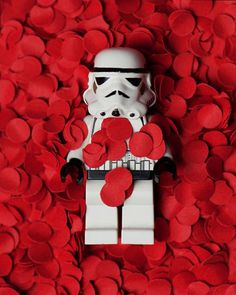 Jay Mug  Stormtrooper American Beauty by Mike Stimpson