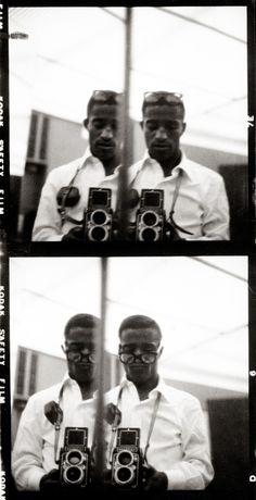 Sammy Davis Jr. Self Portraits #photography #photo #bw #black white