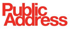 almost Modern : Public Address #logo