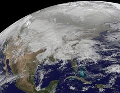 Satellite Shows Winter Megastorm Painting U.S. White | Wired Science | Wired.com #earth #storm #weather #space