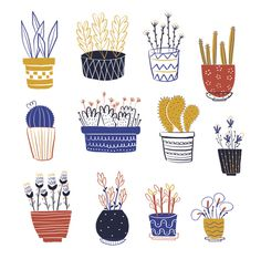 My plants on Behance #illustration #plants