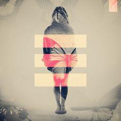 Double Exposure Portraits | Fubiz™ #girl #exposure #butterfly #photography #double