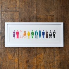 Jez Burrows #iconography #burrows #print #jez #pictograms #characters