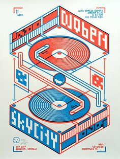 DJ Qbert poster by Jason Craig