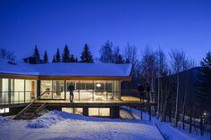 Trefoil House, Vermont by J.Roc Design