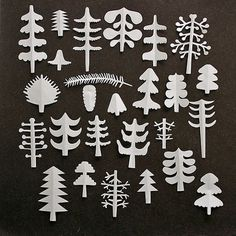 Mrs. Easton » Blog Archive » Again with the Swedes #scissor #paper #tree