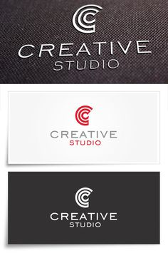 Creative Studio Logo #medya #red #c #modern #mockup #letter #studio #logo #download