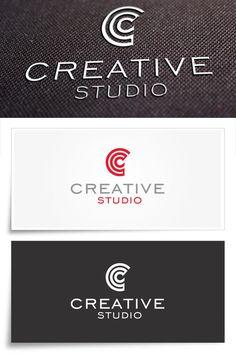 Creative Studio Logo #medya #red #c #modern #mockup #letter #studio #logo #download