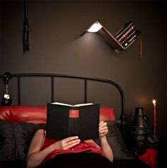 Ultimate Reading Lamp by Studio Smeets Design lili lite reading light #lamp #reading #light