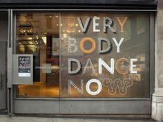 HOW Magazine Blog | Thursday Type Treat #window #signage #typography
