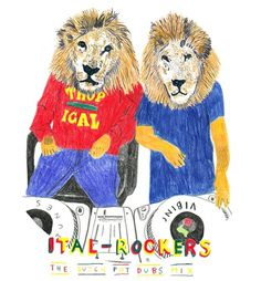 MIX: Ital Rockers | Tropical Waste #reggae #illustration #ital #rockers