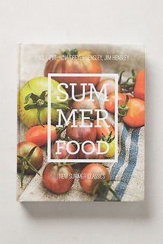 Summer Food | Inspiration. Covers #cover #print #design #inspiration