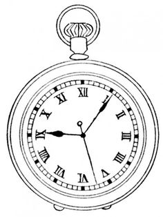 q063.png 400×532 pixels #clock #death #cafe