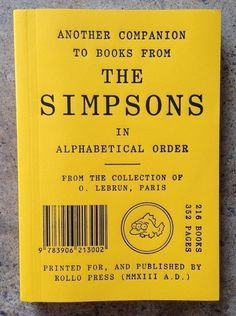 image #cover #simpsons #yellow