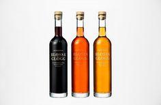 BVD — Blossa #mulled #bottle #packaging #glgg #wine #christmas #blossa #bvd #winter