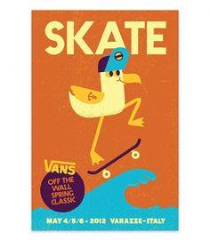 Vans Off The Wall Spring Classic 3 - Mauro Gatti's House of Fun #skating #bird