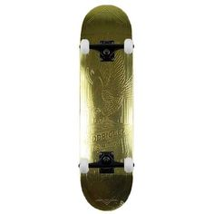 Primitive Eagle Gold Complete Skateboard 8.125""