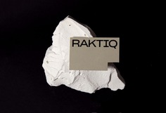 Raktiq Branding - Mindsparkle Mag Ara Estudio designed the branding for Raktiq – an architecture studio in Barcelona focused on the design of houses with elegant and compact fine shapes. #logo #packaging #identity #branding #design #color #photography #graphic #design #gallery #blog #project #mindsparkle #mag #beautiful #portfolio #designer
