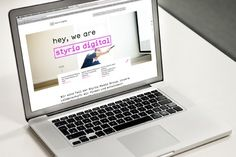 hey, we are styria digtial by moodley brand identity #web
