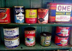 Vintage cans, Antarctica