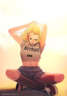 Kasia Art – 'When I grow up I want to be a Batgirl!'