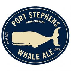 Oh Beautiful Beer - Page 5 #ocean #beer #whale #logo #ale