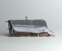 brokenhouses-16 #sculpture #house #art #broken #miniature