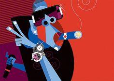 Pablo Lobato | Fubiz™ #z #jay #cubist #illustration