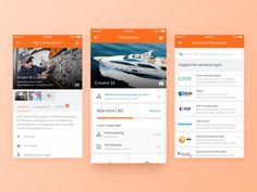 Skipper App UI - Boat Profile