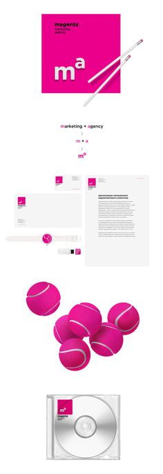 Magenta, marketing agency #website #identity #branding