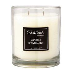 2-Wick Jar Vanilla & Brown Sugar Scented Candle