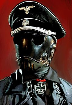 Twibfy #hell boy #illustration #painting #nazi #movie
