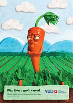 Turkish Cargo: Carrot #carrot #clay #3d