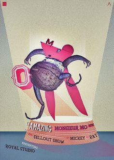Monsieur Morph #wwwbehancenetgallerymonsieu #studio #http #royal