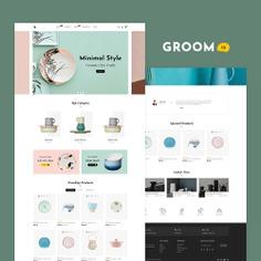 #Groom #Shopping - #Shopify Multi-Purpose Responsive #Theme   #TemplateTrip #eCommerce #Website #Design