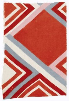 The Hollow #pattern #red #geometric #square #textile
