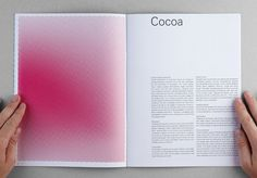 HEC CSR : DEMIAN CONRAD DESIGN #interior #halftone #red #print #book #spread