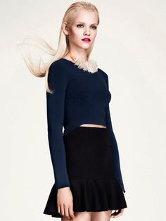 Ginta Lapina for H&M Retro #model #girl #photography #fashion #editorial