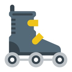See more icon inspiration related to skate, roller skate, skater, skating, sports and leisure on Flaticon.