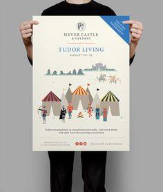 Hever Castle & Gardens Summer Jousting Campaign