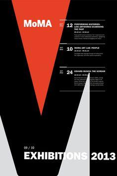 MoMA Exhibit Poster Series