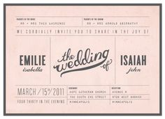 Save the Date Layout #wedding #invitation