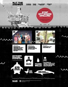 Surfrider Foundation - Stopbreathing #website #layout #design