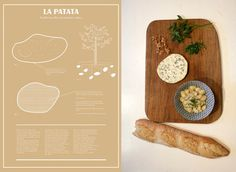 Herbarium Taste: An Educational Food Design Project by Valentina Raffaelli Photo #graphic design #layout #food