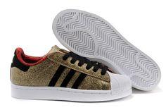 Adidas Originals Adidas Leather Men Gold