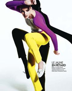 Nice pose with yellow pants | Just a good pose #fashion