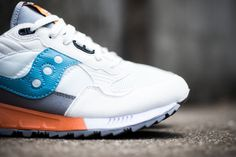 saucony shadow 5000 white grey blue - Google Search #saucony #sneakers #trainers