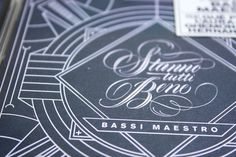 Bassi Maestro #design #graphic #typography